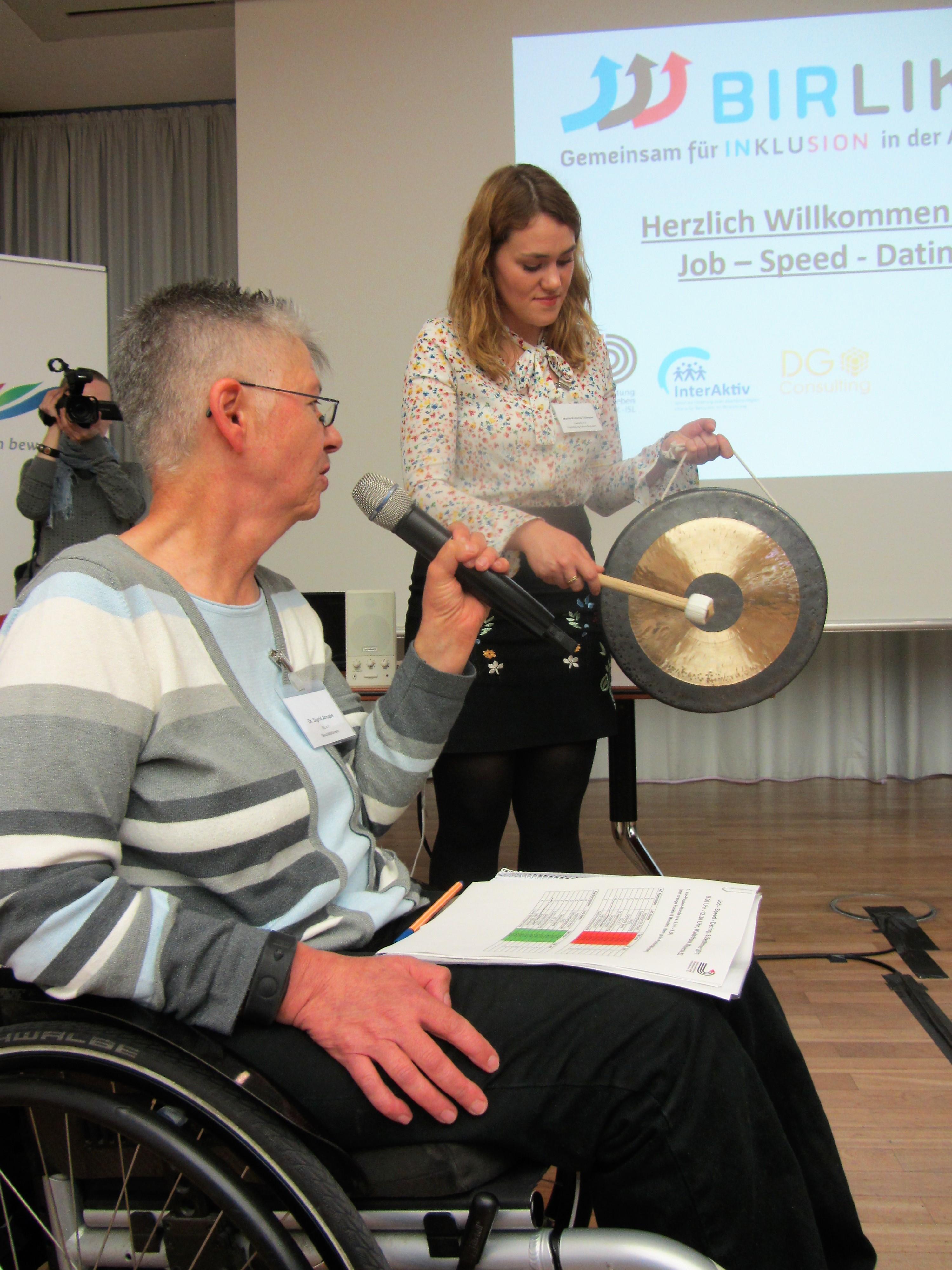 Behinderte Partnersuche mit
